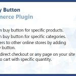 WooCommerce Custom Buy Button Plugin