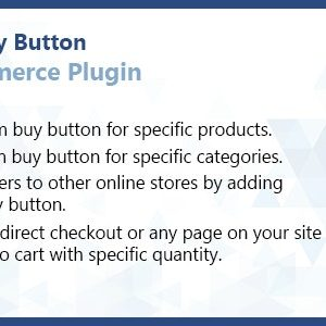 WooCommerce Custom Buy Button Plugin